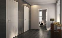 Innenbereich-Tür / einflügelig / Holz