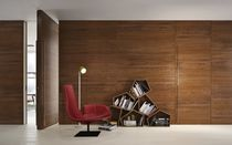 Innenbereich-Tür / einflügelig / Holz / bündig