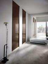 Innenbereich-Tür / einflügelig / Glas