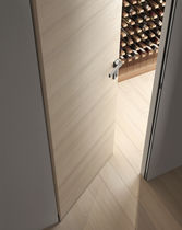 Innenbereich-Tür / einflügelig / Traubeneiche / bündig