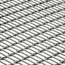 Metall-Geflecht / für Fassaden / für Sonnenschutz / für Wände / Edelstahl