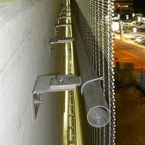 Metall-Befestigungssystem / für Fassadenverkleidung / Außen