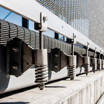 Edelstahl-Befestigungssystem / für Vorhangfassade / für Fassadenverkleidung / für Wände