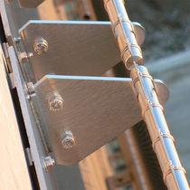 Metall-Befestigungssystem / für Fassadenverkleidung / Außen / Innennereich
