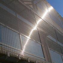 Gewobenes Metall / für Sonnenschutz / für Wände / für Vorhangfassade / Edelstahl