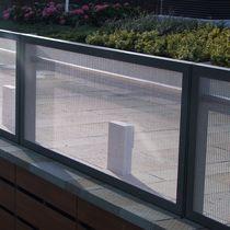 Metallgeländer / mit Stangen / für Außenbereich / für Balkon