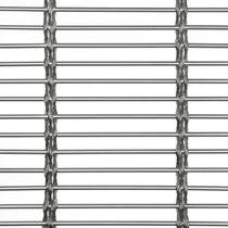 Metall-Geflecht / für Innenausbau / für Fassadenverkleidung / Edelstahl / Langmaschen