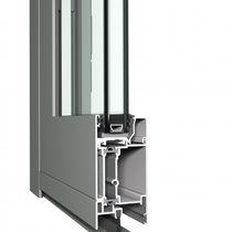 Aluminium-Türprofil / wärmeisolierte