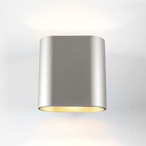 Moderne Wandleuchte / Außen / Metall / LED