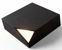Moderne Wandleuchte / aus Polycarbonat / LED / quadratisch