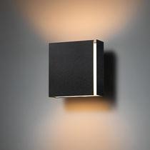 Moderne Wandleuchte / Metall / LED / rechteckig