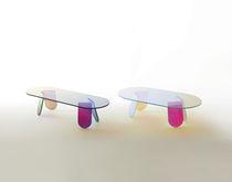 Moderne Couchtisch / Glas / für Innenbereich / von Patricia Urquiola
