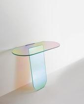 Moderner Konsolentisch / Glas / von Patricia Urquiola / transparent
