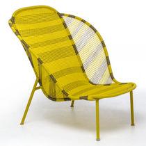 Moderner Sessel / aus Polyethylen / aus Stahl