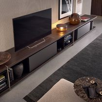 Modernes Fernsehmöbel / lackiertes Holz / von Jean-Marie Massaud