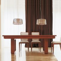 Standardtisch / aus Kirschbaum / Macassar-Ebenholz / rechteckig