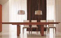 Rechteckiger Tisch / für Innenbereich / modern / aus Kirschbaum