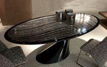 Tisch für Innenbereich / modern / aus Marmor