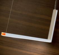 Hängelampe / modern / Aluminium / aus Polycarbonat