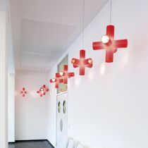 Hängelampe / originelles Design / Aluminium / Polyethylen
