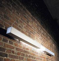 Moderne Wandleuchte / Aluminium / aus Polycarbonat / fluoreszierend