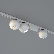 LED-Schienenleuchte / rund / Metall / Gewerbe
