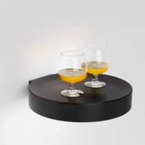Moderne Wandleuchte / Metall / aus Polycarbonat / LED