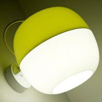 Moderne Wandleuchte / Metall / aus PMMA / LED