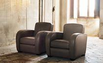 Klassische Sessel / Leder