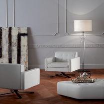Lampe mit Fußgestell / modern / aus Muranoglas / für Innenbereich