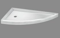 Duschwanne für Eckeinbau / aus Acryl