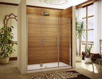 Einflügelige Duschwand / für Nischen