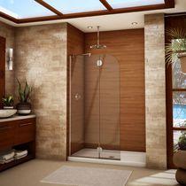 Feststehende Duschwand / für Nischen