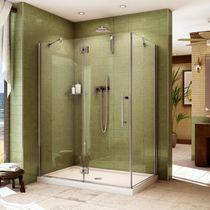 Einflügelige Duschwand / für Eckeinbau