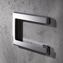 Wandmontierter Toilettenpapierhalter / verchromtes Metall