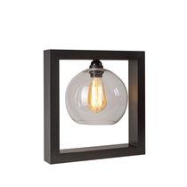 Tischlampe / klassisch / Messing / Glas