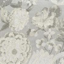 Möbelstoff / Blumenmotive / Baumwolle / Leinen