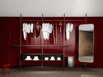 Kleiderschrank modern  Moderner Begehbarer -Kleiderschrank / Holz / nach Maß / High-End ...