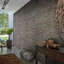 Naturfaserwandverkleidung / für Wohnbereich / strukturiert / Steinoptik