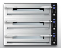 Ofen zur beruflichen Nutzung / elektrisch / für Pizza / 3 Kammern