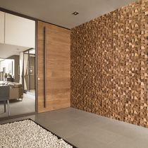 Innenraum-Mosaikfliese / für Wände / Holz / matt