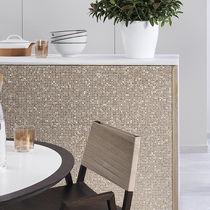 Innenraum-Mosaikfliese / für Wände / Metall / Hochglanz