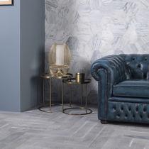 Marmor Steinplatte / matt / für Fassadenverkleidung / weiß