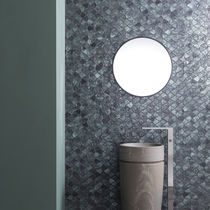 Innenraum-Mosaikfliese / für Wände / Glas / mit geometrischem Muster