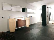 Innenraum-Fliesen / für Badezimmer / für Böden / Schiefer