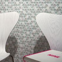 Innenraum-Mosaikfliese / für Wände / Verbundwerkstoff / strukturiert