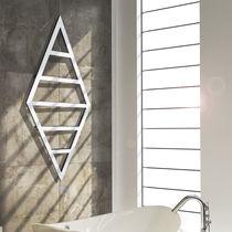 Heißwasser-Badheizkörper / Stahl / Edelstahl / Chrom