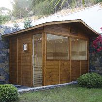 Finnische Sauna / Privatgebrauch / für den Außenbereich