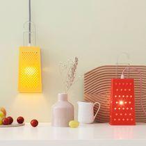 Tischlampe / originelles Design / aus Polycarbonat / für Innenbereich