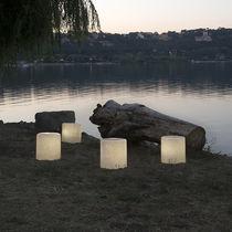 Bodenlampe / modern / aus Laprene® / aus Nebulite®